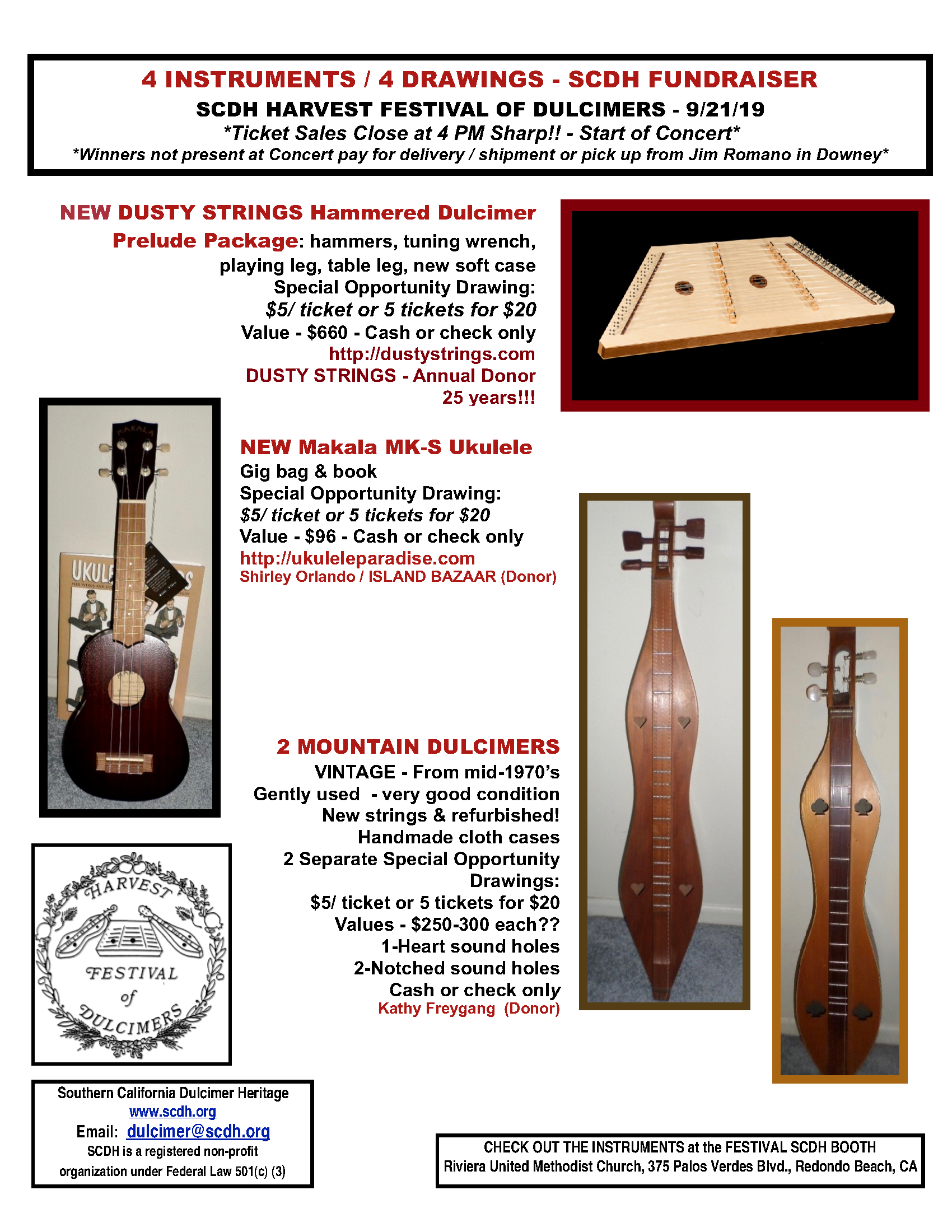 Instrument Fundraiser
